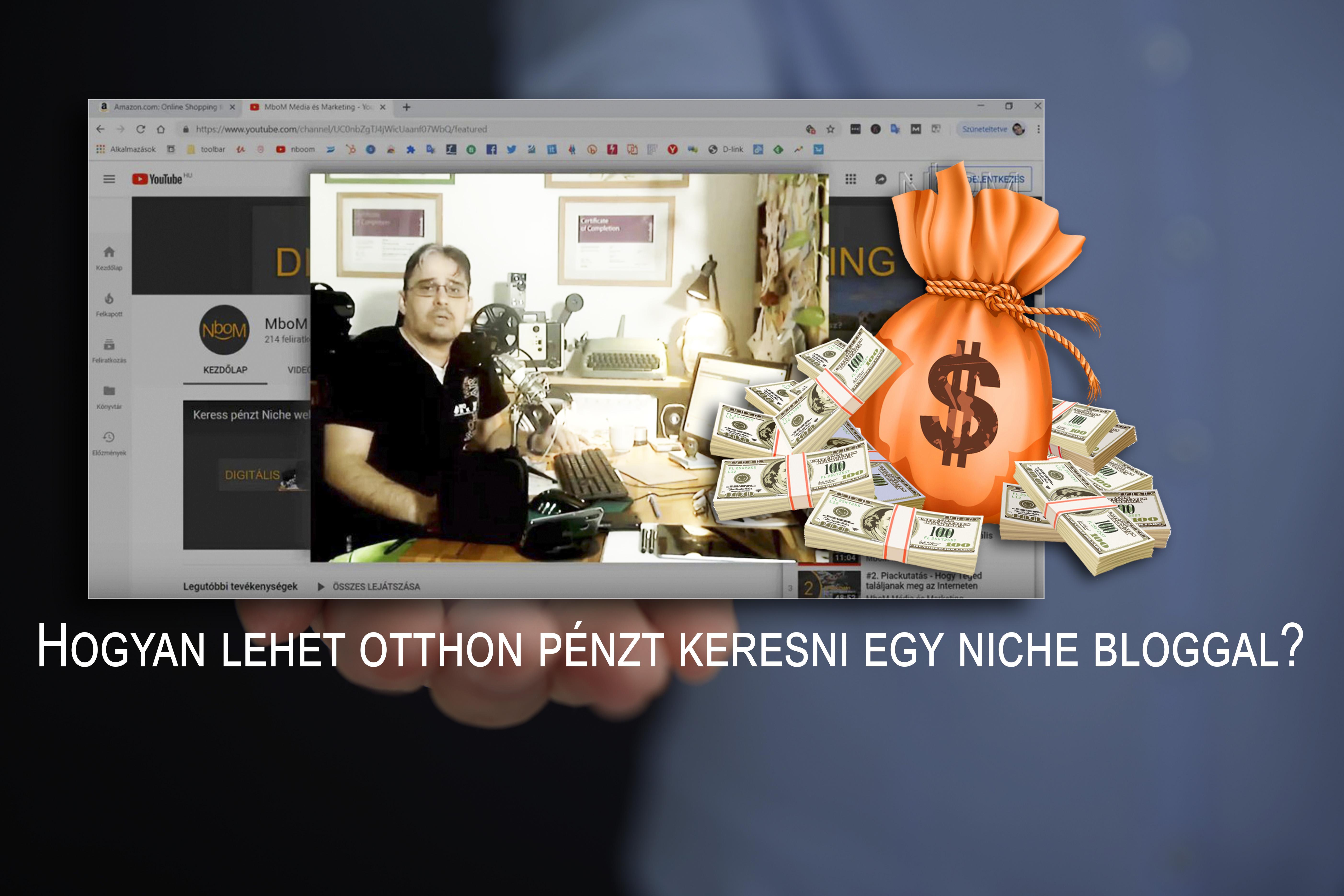 YouTube pénzkeresés - az álom és a valóság - Honlapra Fel!