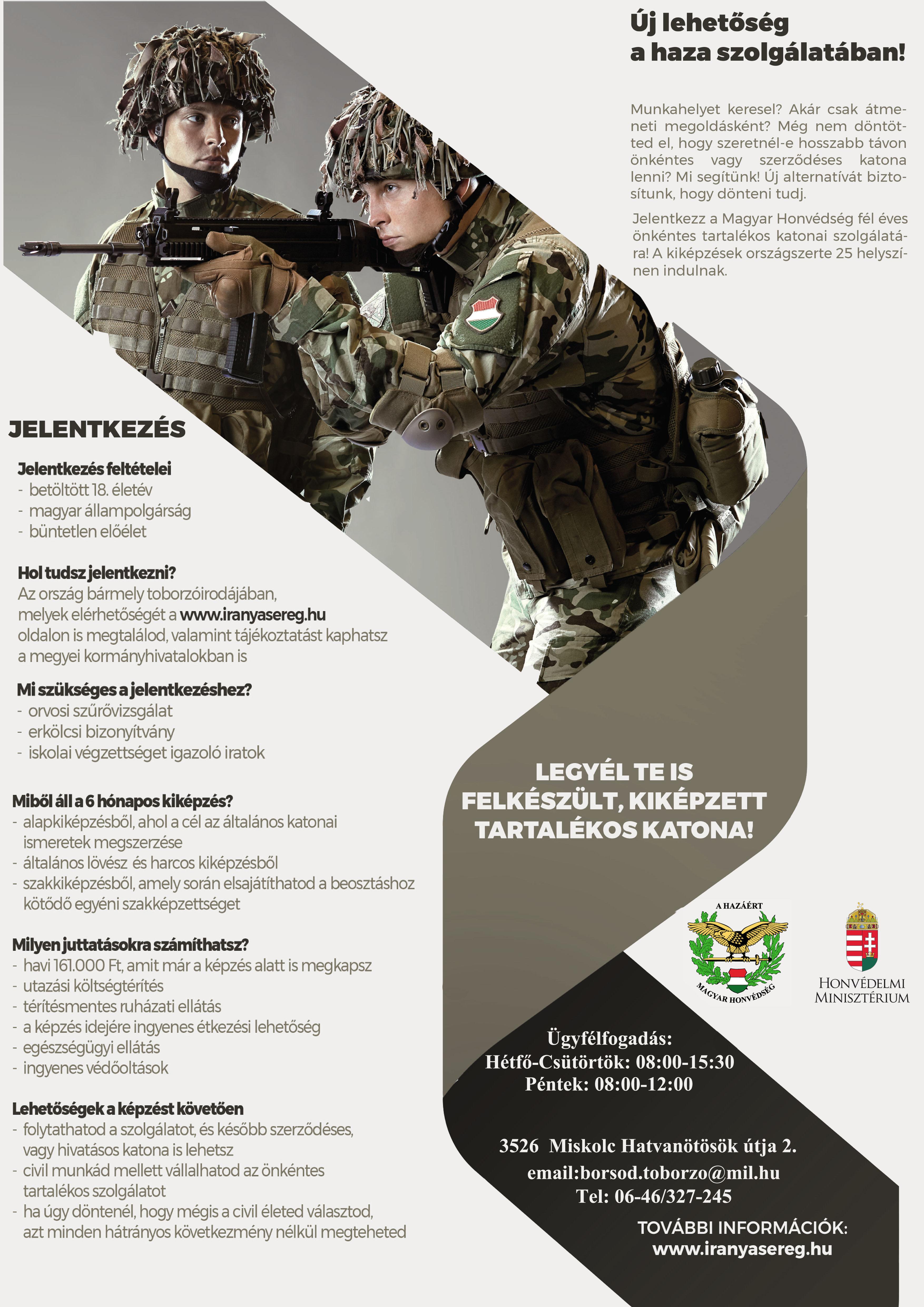 a katona további jövedelem megszerzésének tilalma