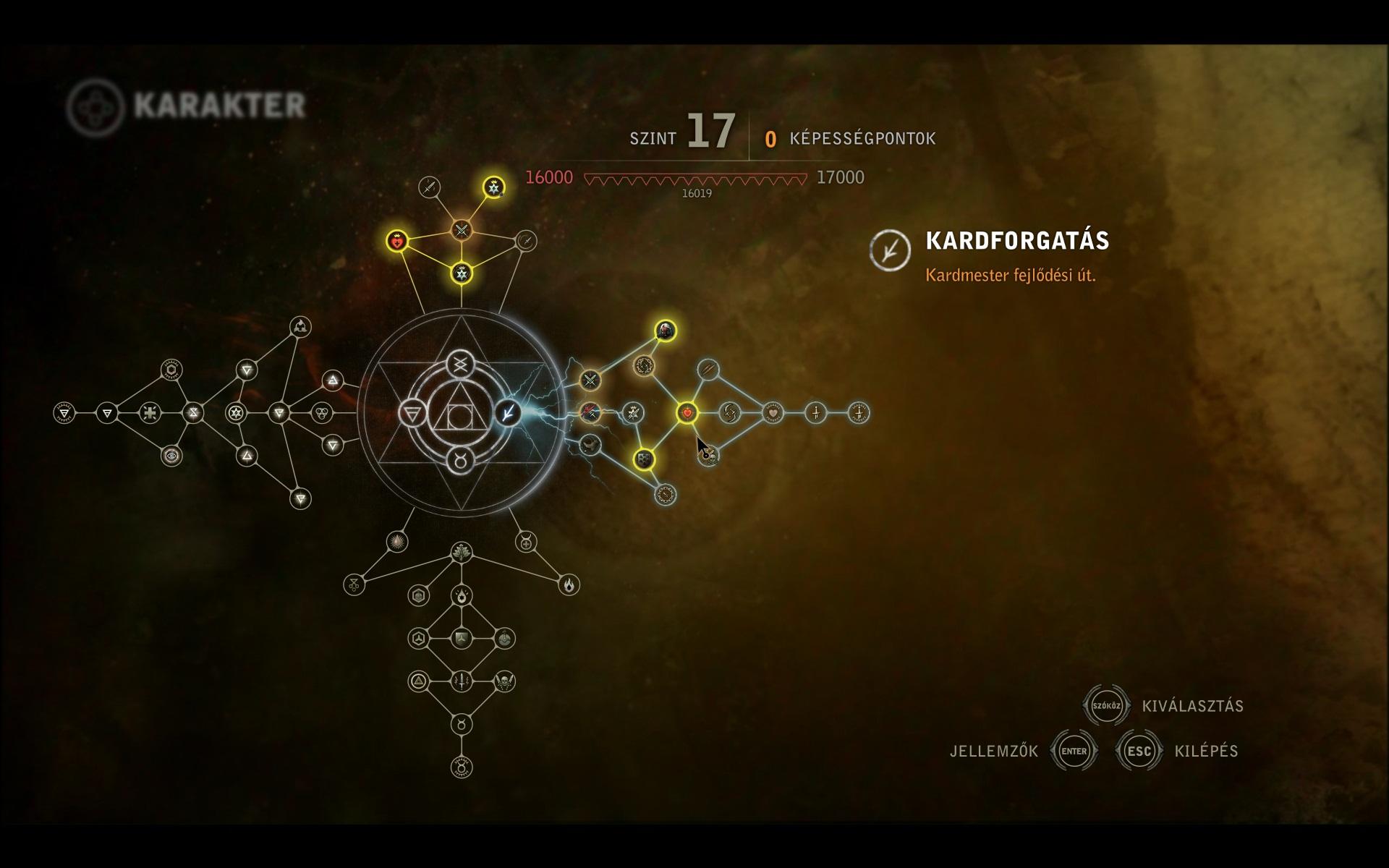 A witcher 3 a szint megszerzésének leggyorsabb módja szuper rendszer az opciókhoz