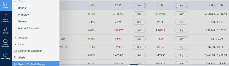 demo számla bináris kereskedés doecon bináris opció